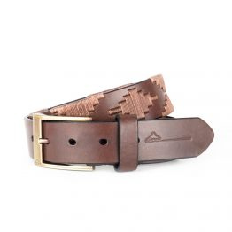 Brown-leather-pampeano-polo-belt-luxury-Habano-1000x1000